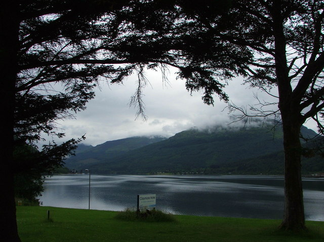 Loch Long in the evening