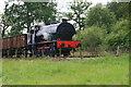 SJ9744 : Foxfield Railway - the train takes the strain by Chris Allen