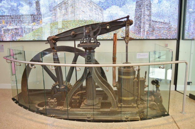Bridewell Museum - Bagg's Brewery engine
