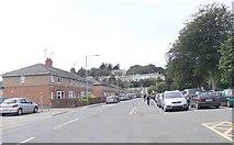 SH5638 : Heol y Parc - High Street by Betty Longbottom