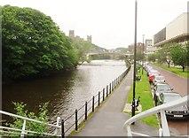 NZ2742 : The River Wear at Durham by Derek Voller