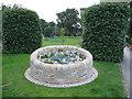 SJ7561 : Jubilee flowerbed by Stephen Craven