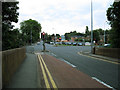 SJ7660 : Cycle lane, Sandbach Bridge by Stephen Craven