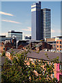 SJ8498 : Manchester Rooftops by David Dixon