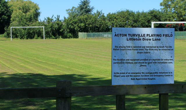 2012 : Acton Turville Playing Field