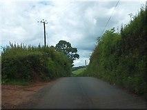 ST0204 : Minor road from Bolealler to Westcott by David Smith