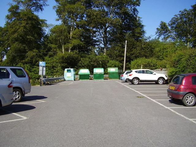 Recycling at Chagford