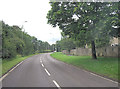 SP2707 : Upavon Way southeast of Alvescot Downs Farm by Stuart Logan