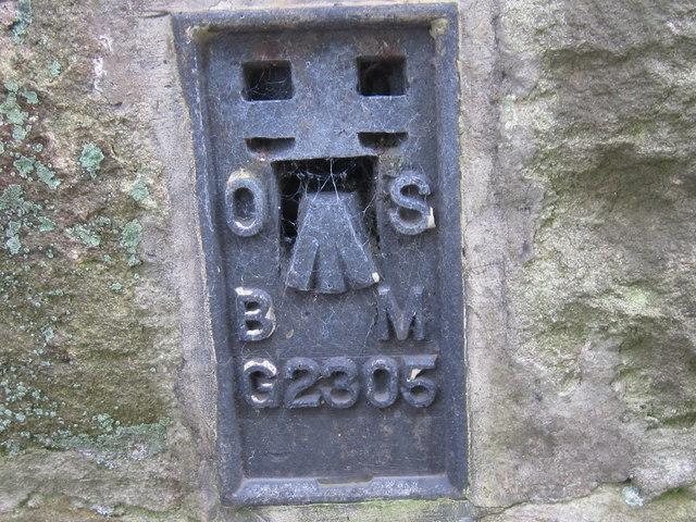Ordnance Survey  Flush Bracket G2305