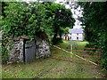 H5415 : Entrance to farmhouse, Barragh by Kenneth  Allen