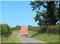 ST8382 : 2012 : Sainsbury delivery van on its way to Alderton by Maurice Pullin