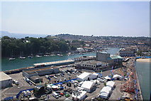 SY6878 : Weymouth Ferry Terminal and Quay by John Stephen