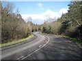 SX8275 : Road from Coldeast nears Drum Bridge by Robin Stott