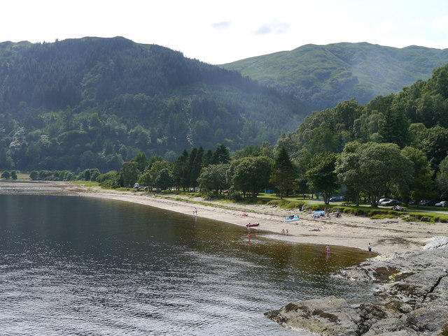 The Beach At Finart Bay, Ardentinny