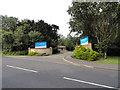 TQ5091 : Havering Court Nursing Home Entrance by Phil Gaskin