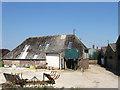 TQ4007 : Barns, Swanborough Farm by Simon Carey