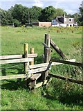 SK3528 : Stile on the path to The Old Forge by Ian Calderwood