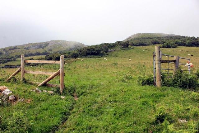 Farmland on the Little Orme