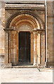ST6718 : Milborne Port: Norman south doorway by Martin Bodman