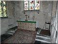 TL1097 : Church of St Remigius, Water Newton, Altar by Alexander P Kapp