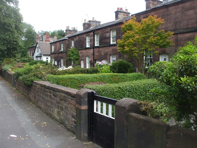 Stone cottages, Belle Vale Rd, Gateacre