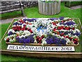 ST7345 : Diamond Jubilee floral display near Nunney Castle by Rose and Trev Clough