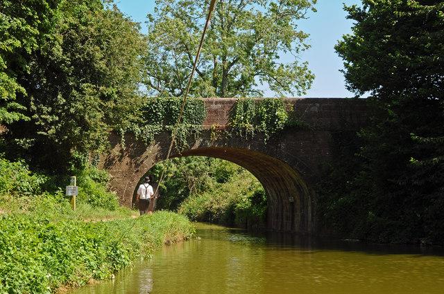 Tidcombe Bridge on the Grand Western Canal