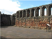 NS6859 : Bothwell Castle - Great Hall by M J Richardson
