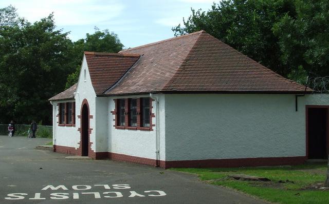 Roseburn Park pavilion