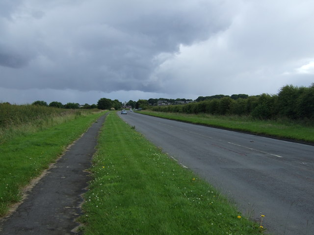 A192 towards Earsdon