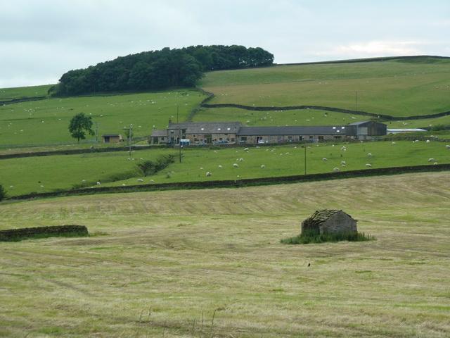 View towards Haygill Farm