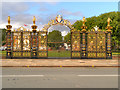 SJ6088 : Warrington's Golden Gates by David Dixon