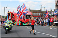 TQ2994 : Flying the Flag through Southgate, London N14 by Christine Matthews