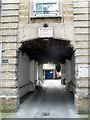 TQ2777 : Entrance to Adair House Oakley Street Chelsea by PAUL FARMER
