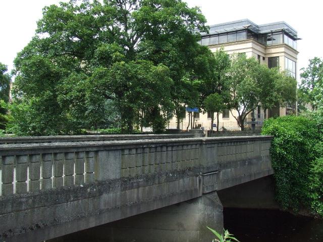 Bridge at Roseburn Park