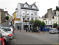 W7966 : Restaurant in Pearse Square, Cobh by David Hawgood