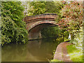 SJ6486 : Bridgewater Canal, Grappenhall Bridge by David Dixon