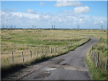 TR0417 : Restricted byway through Lydd Ranges by Oast House Archive