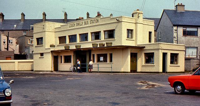 Former Lough Swilly bus station,... © Albert Bridge ...