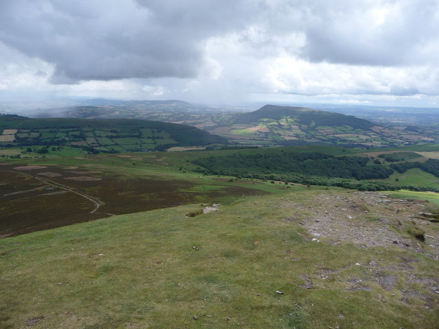 View eastwards off the Sugar Loaf