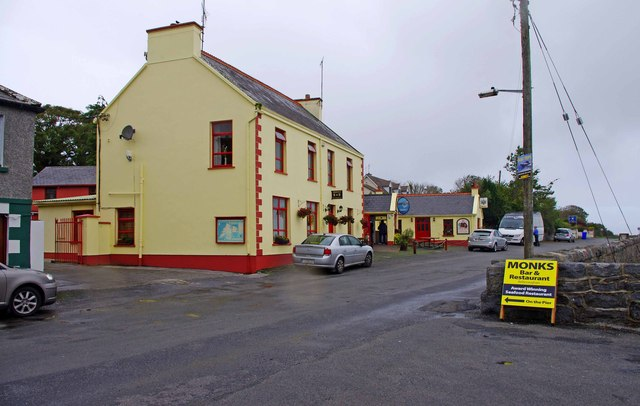 Monks Bar & Restaurant (1), Old Pier, Ballyvaughan, Co. Clare