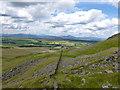 NS5985 : Drystane dyke in the Corrie of Balglass by Alan O'Dowd