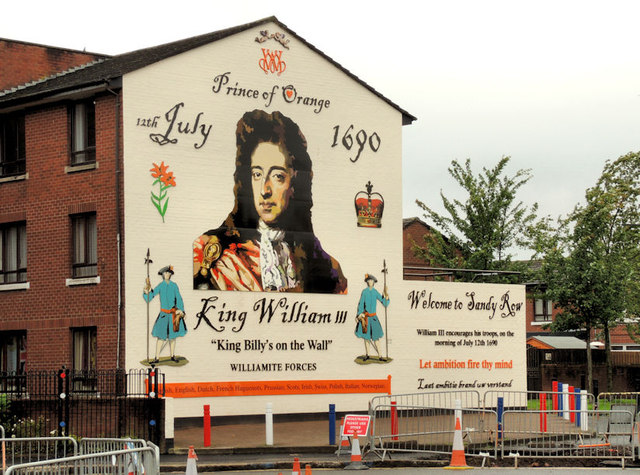 New King William mural, Belfast (C) Albert Bridge ...