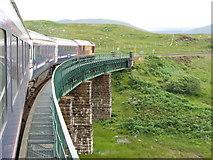 NN4258 : Rannoch viaduct on the West Highland Line by Gareth James