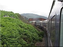NN4258 : West Highland Line north of Rannoch by Gareth James