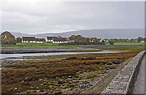M2208 : Looking towards Irish Cottages, Ballyvaughan, Co. Clare by P L Chadwick