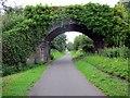 SJ3369 : Bridge over the Millennium Greenway, Sealand by Jeff Buck