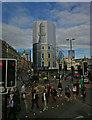 TQ3083 : The Lighthouse development, King's Cross by Julian Osley