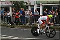 TQ1566 : Time triallist, Weston Green, Esher by Jim Osley