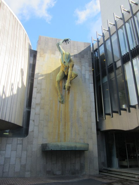 River God Tyne Sculpture, Newcastle Civic Centre